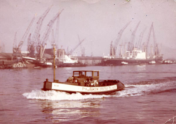 Pieter draaijer werkte o a op een sleepboot